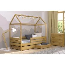 Кровать Амми односпальная-массив бука
