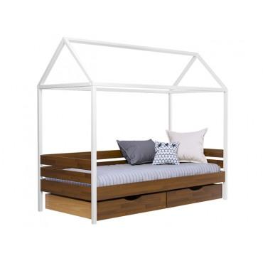 Кровать Амми односпальная-щит бука Эстелла