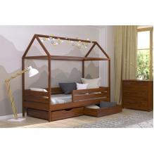 Кровать Амми односпальная-щит бука