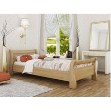 Кровать Диана односпальная-массив бука