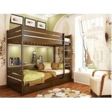 Кровать Дуэт двухъярусная-массив бука