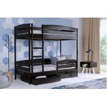 Кровать Дуэт Плюс двуxъярусная-щит бука
