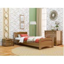Кровать Венеция односпальная-массив бука