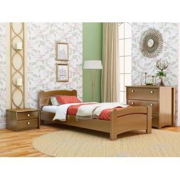 Кровать Венеция односпальная-щит бука Эстелла