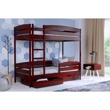 Кровать Дуэт Плюс двуxъярусная-щит бука Эстелла