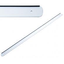 Накладка на столешницу U, 600х28мм, R=6мм, левая, алюминий
