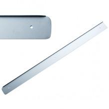 Накладка на столешницу U, 600х38мм, R=6мм,левая, алюминий
