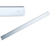 Накладка на столешницу U, 600х38мм, R=6мм, правая, алюминий