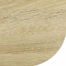 Столешница со скругленным углом Дуб натуральный 38 мм