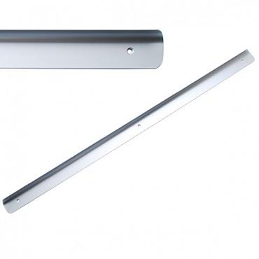 Стыковочная планка на столешницу угловая U, 28мм R=6мм, алюминиевая Украина