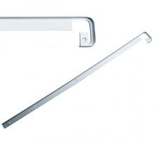 Стыковочная планка на столешницу прямая 38мм, R=6мм, алюминиевая