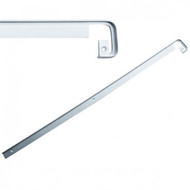 Стыковочная планка на столешницу прямая 38мм, R=6мм, алюминиевая Украина