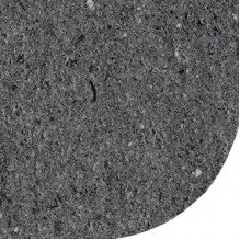 Столешница со скругленным углом Гранит темный 38 мм