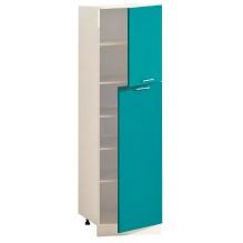 Шкаф П60.214.2Д Вар.5 для посуды с полками серии Эко