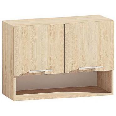 Шкаф верхний В80.60.2Д ниша серии Европейка Комфорт мебель