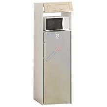 Шкаф П60.214.1Д под обычный холодильник h=1530 серии Французский Престиж