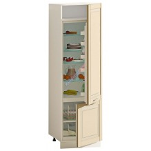 Шкаф П60.214.2Д Вар.6 под встроенный холодильник серии Французский Престиж