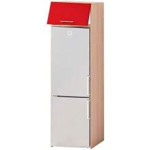 Т-2895 пенал под холодильник низ серии Хай-Тек