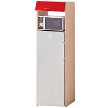 Т-2896 пенал под холодильник низ серии Хай-Тек
