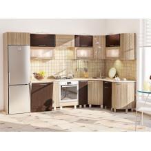 Кухня КХ-250 Хай-тек 3,23х1,7 м