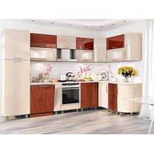 Кухня КХ-105 Хай-тек 1,7х3,2 м