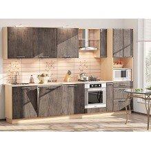 Кухня КХ-199 Хай-тек 3,2 м