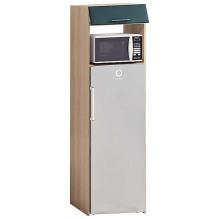 Т-2896 пенал под холодильник низ серии Матовая Галактика