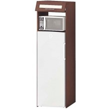 Т-3196 пенал под холодильник низ серии Престиж