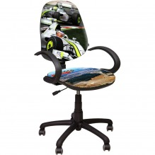 Кресло Поло 50/АМФ-5 Дизайн №2 Гонки