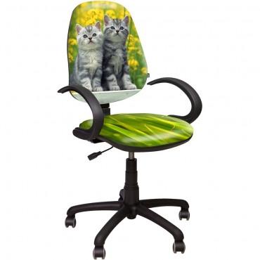 Кресло Поло 50/АМФ-5 Дизайн №8 Котята AMF