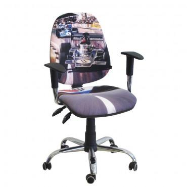 Кресло Бридж Хром Дизайн №1 Гонки AMF