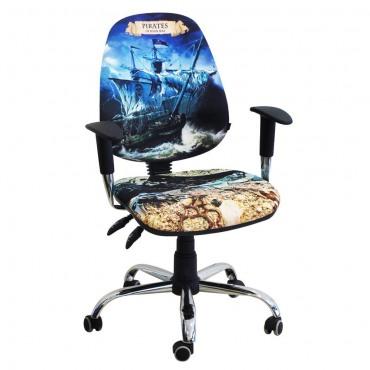 Кресло Бридж Хром Дизайн №1 Пираты AMF