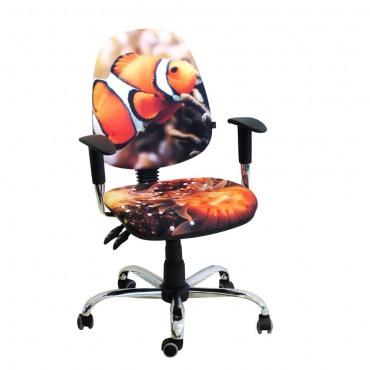 Кресло Бридж Хром Дизайн №6 Рыбка AMF