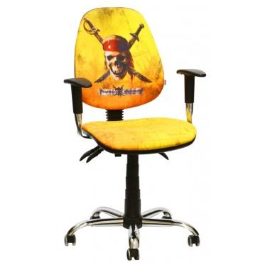 Кресло Бридж Хром Дизайн Дисней Пираты карибского моря Веселый Роджер AMF