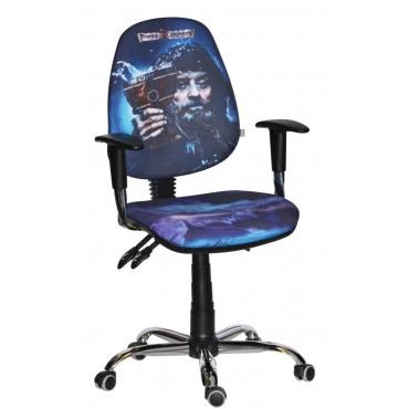 Кресло Бридж Хром Дизайн Дисней Пираты карибского моря Черная Борода AMF