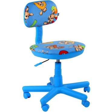Кресло Свити голубой Зайцы голубые AMF