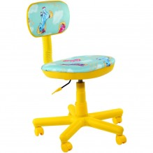 Кресло Свити желтый Пони бирюзовый