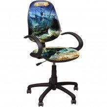 Кресло Поло 50/АМФ-5 Дизайн №1 Пираты