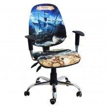 Кресло Бридж Хром Дизайн №1 Пираты