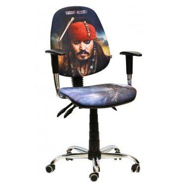 Кресло Бридж Хром Дизайн Дисней Пираты карибского моря Джек Воробей AMF