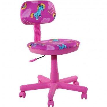 Кресло Свити сиреневый Пони розовые AMF