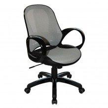 Кресло Матрикс-LB Черный, сиденье Сетка черная/спинка Сетка черная