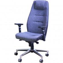 Кресло Элеганс НВ Неаполь-6 (голубой), боковины/задник Неаполь-23 (серый)
