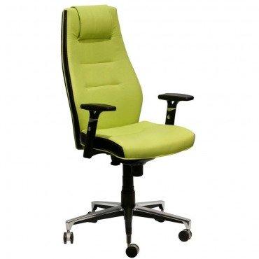Кресло Элеганс НВ Неаполь-34, боковины/задник Лаки черный AMF