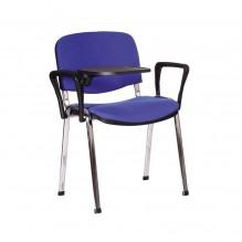 Стул Изо хром Подлокотник со столиком