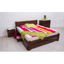 Кровать Айрис с ящиками Бук