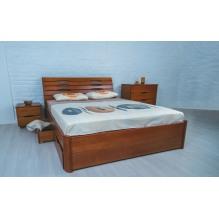 Кровать Марита Люкс с ящиками Бук