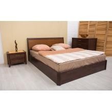 Кровать Сити с интарсией с механизмом Бук