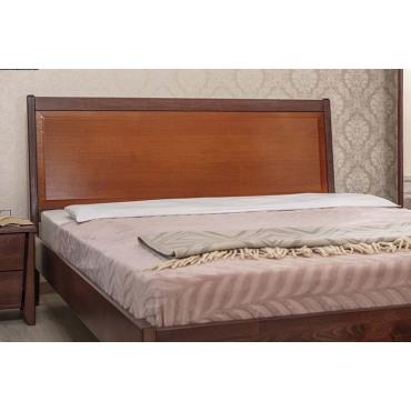 Кровать Сити Премиум с филенкой без изножья Бук Олимп