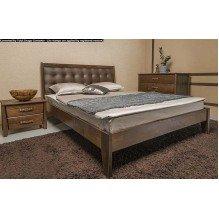 Кровать Сити Премиум с мягкой спинкой без изножья Бук